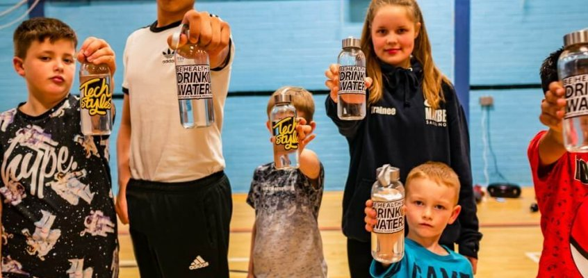 Breakin Through At Parkside Sports Centre